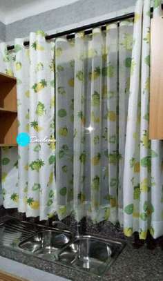 custom made kitchen curtains image 1