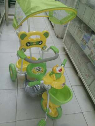 Baby push along tricycle