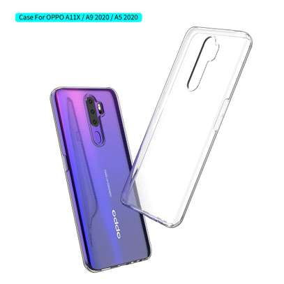 Clear TPU Soft Transparent case for Oppo A5 2020/A9 2020 image 5