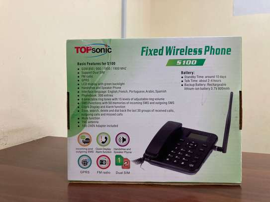 Topsonic Home/Office Wireless Desktop phone image 2