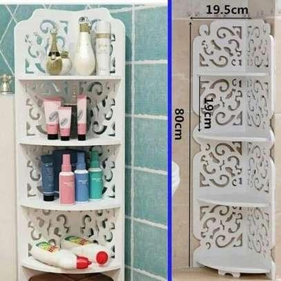 4 Tier Multipurpose Corner Decor Shelf/stand image 3