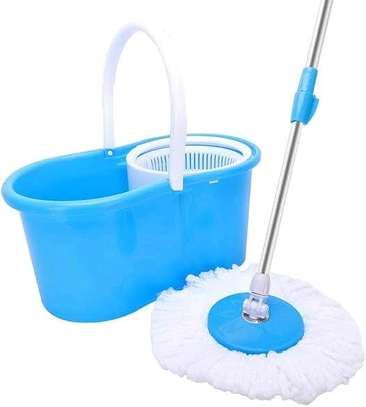 Magic Spin Mop....With wheels image 1