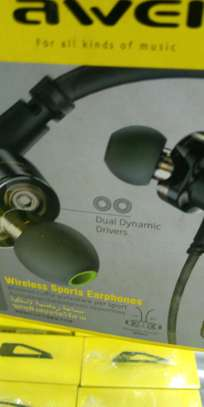 Awei Wireless Sports Earphones X660bl image 1