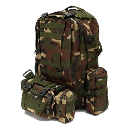 Military Bag 55L-Tactical Bag/Trekking/hiking/camping/Traveling bag image 3