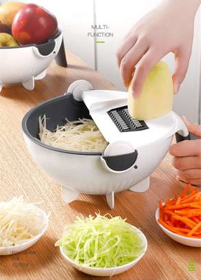 Smart Multifunctional Drainer And Grater,comes with several Exchanging Blades image 3
