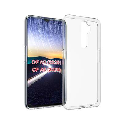 Clear TPU Soft Transparent case for Oppo A5 2020/A9 2020 image 4