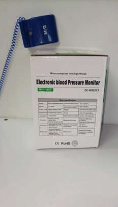 Voice intelligence Wrist blood pressure monitor image 2