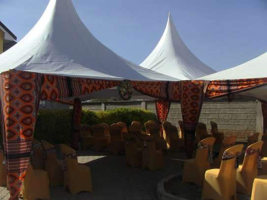 Tents, chairs, and tables for hire image 2
