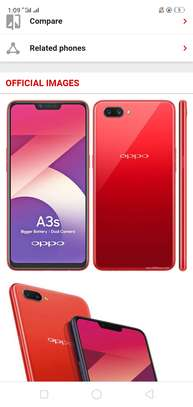 Mobile phone oppo a3s