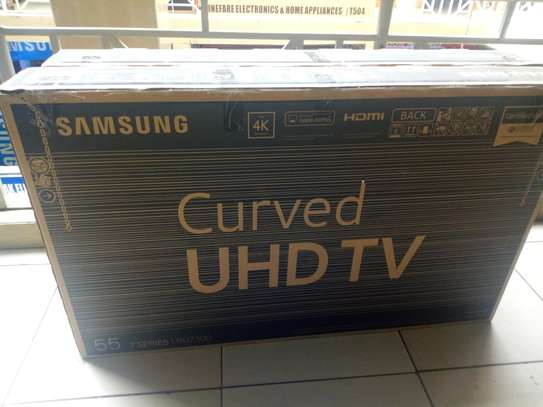 "55"" samsung smart 4k curved TV"