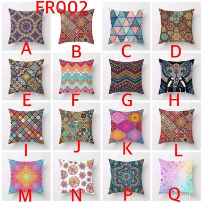 Fancy modern throw pillow cases