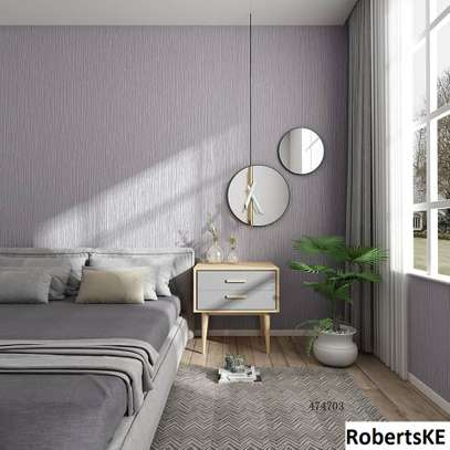 Grey textured home decor wallpaper image 1