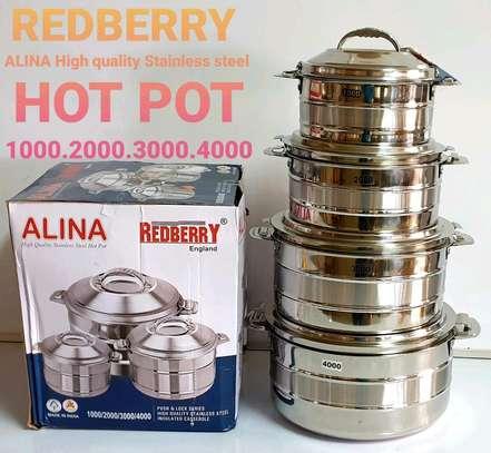 Alina hot pot 4pcs set image 1