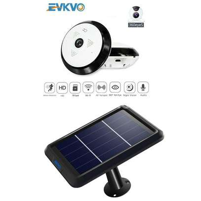 Cctv camera Solar powered