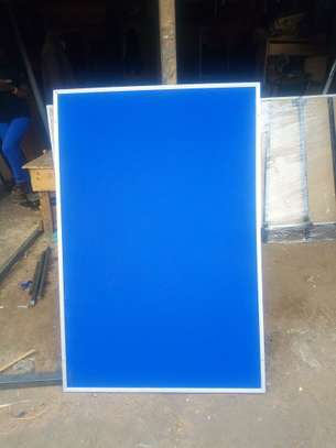 Notice Boards with  Aluminium Frame. 4x2ft image 2