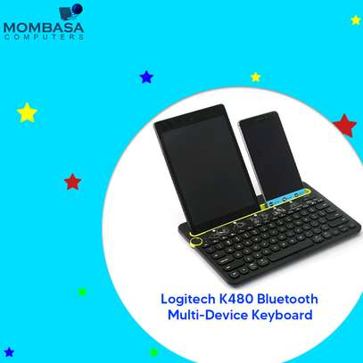 Logitech K480 Bluetooth Multi-Device Keyboard image 3