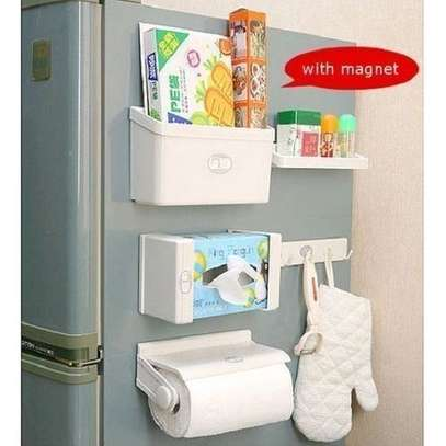 Reliable and strong 5 in 1 Magnetic Fridge Organisers image 1