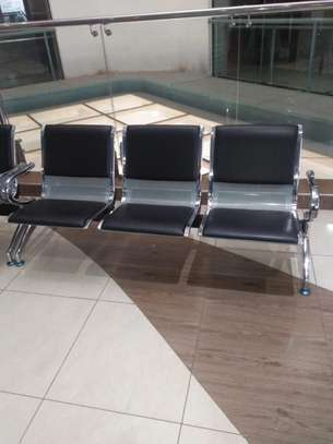 Airport Visitor Padded Link Office Chair