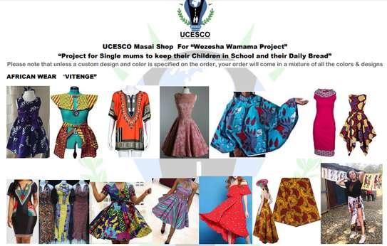UCESCO Affordable African Vitenge and design image 6