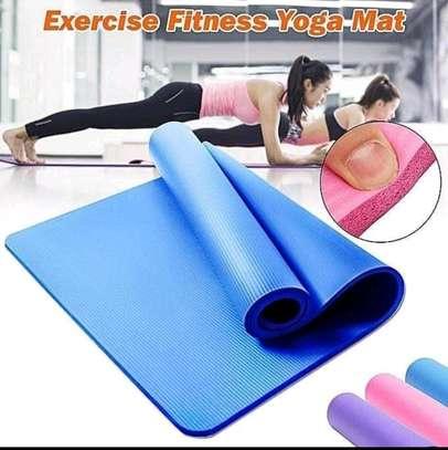 High density Yoga exercise mats image 1