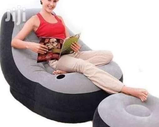 Cozy Inflatable Lounge Set image 1