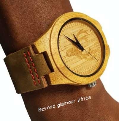 Wooden Watch Analog Quartz Lightweight Handmade  Wrist Watch image 1