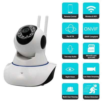 1080P Wireless Wifi Baby Security Panoramic Night Vision Monitor IP CCTV Camera image 2