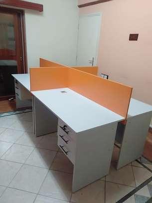 Office Desk 4 Way Workstation Station Ksh. 49,999 image 3