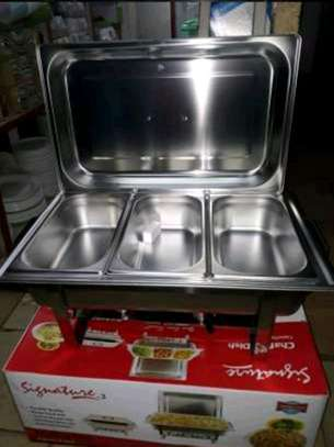 Chaffing dishes/food warmers image 1