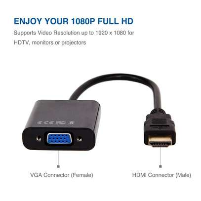 DVI to VGA Display Adapter image 1