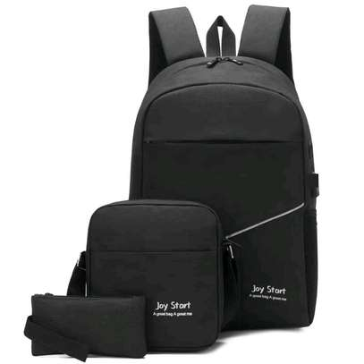 3 IN 1 LAPTOP BAG WITH USB CHARGING CABLE WHOLESALERS AND RETAILERS IN KENYA image 5
