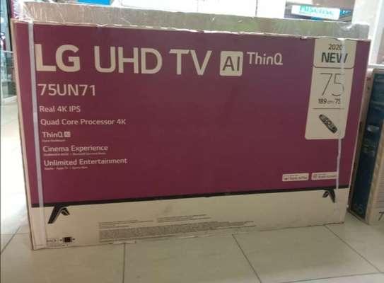 LG 7m LG UHD 75 Inch 4K TV-New 2020 image 1