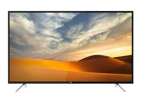 TCL 65 INCH 4K QUHD ANDROID SMART TV WITH AI (2019 MODEL image 1