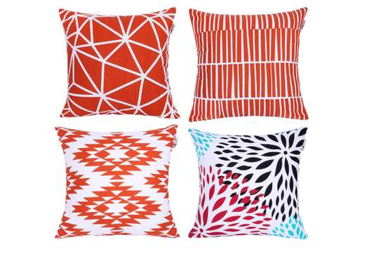Decorative Unique Throw Pillow Case Cushion Covers a set of 4 pieces at Ksh. 3200 image 12