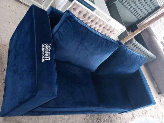 Modern three seater sofa for sale in Nairobi Kenya/blue sofas image 2