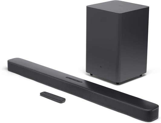JBL Bar 2.1 - Deep Bass Soundbar with 6.5-Inch Wireless Subwoofer image 1