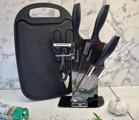 knife set and board image 1