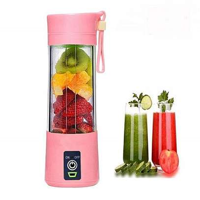 Latest Portable Blender Juicer,Mixer,USB Rechargeable, 380ml-Green image 2