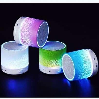 A9 Mini Wireless Bluetooth Speaker - Pink. image 1