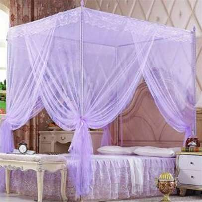 Mosquito net With 4 Metallic Stands image 3