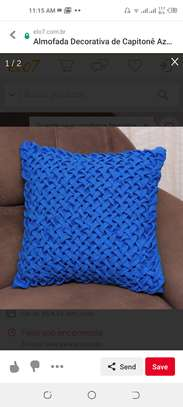 Patterned throw pillows image 2