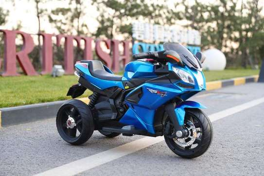 Electric rechargeable Self Ride Motor Bike image 1