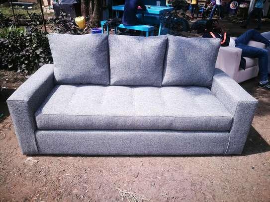 Simple Beautiful Modern Quality 3 Seater Sofa image 1