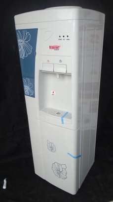 WATER DISPENSER-WHITESH GREY HOT & NORMAL REDBERRY