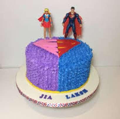 Super man, princess cakes image 2