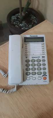 Landline Phone - Panasonic KX-T2375MXW image 2