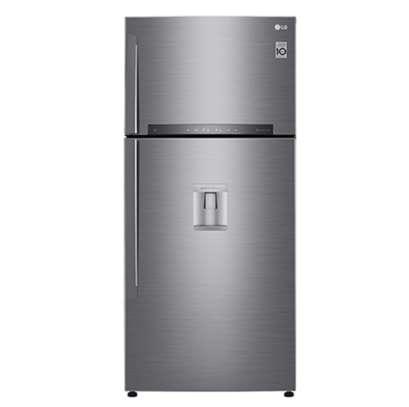 LG GN-F702HLHU Refrigerator, Top Mount Freezer, 546L image 2