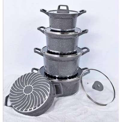 Bosch 10pcs Granite Cookware Set image 1