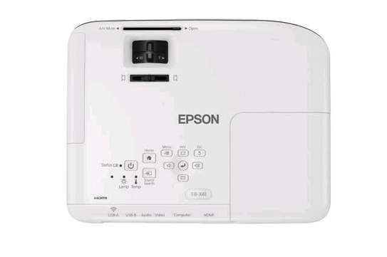 Epson EB-X41 3LCD, 3600 Lumens, 300 Inch Display, XGA Projector - White image 2
