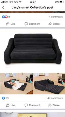 pullout sofa bed image 1